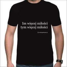 Koszulka z hasłem - męska